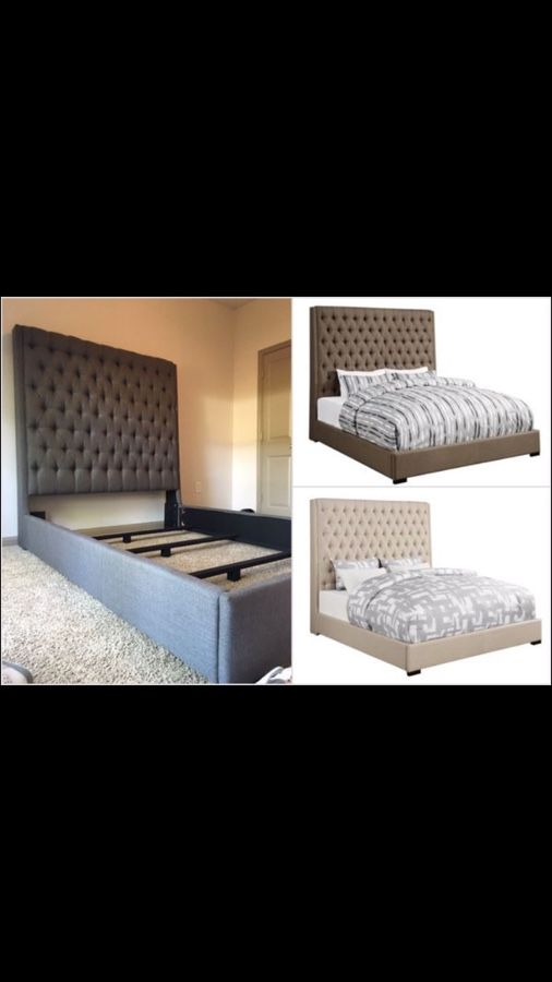 New Extra Tall Bed Frame - Queen | King | Cal King - Box Spring ...