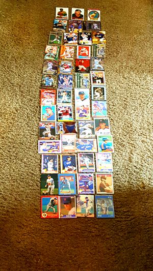 Photo 55CD! AUTH UPPERDECK, TOPPS! HOF- RYAN BIGGIO BAGWELL ASTROS! BONUS HUNTER, THOMAS, BO JACKSON, GOSSAGE, V BLUE. CDS. NMT/MINT !! ASK $100 BO RET $325
