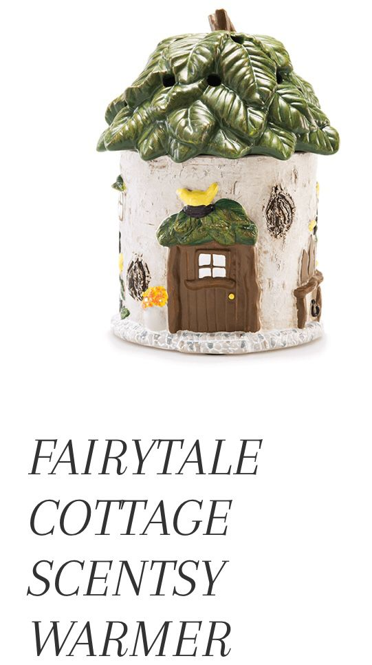 New In Box Fairy Fairytale Cottage Wax Warmer Scentsy For Sale In