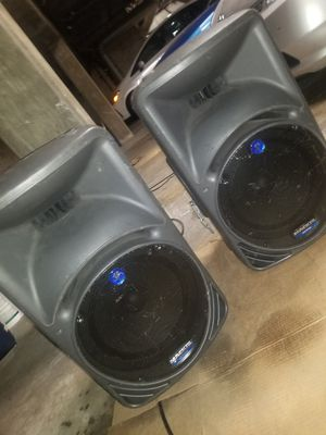 DJ self powered speakers Mackies for Sale in West Hollywood, CA