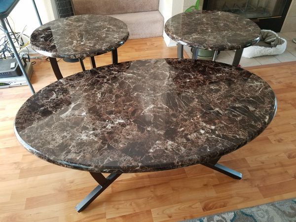 Coffee and End Table Set for Sale in San Diego, CA - OfferUp