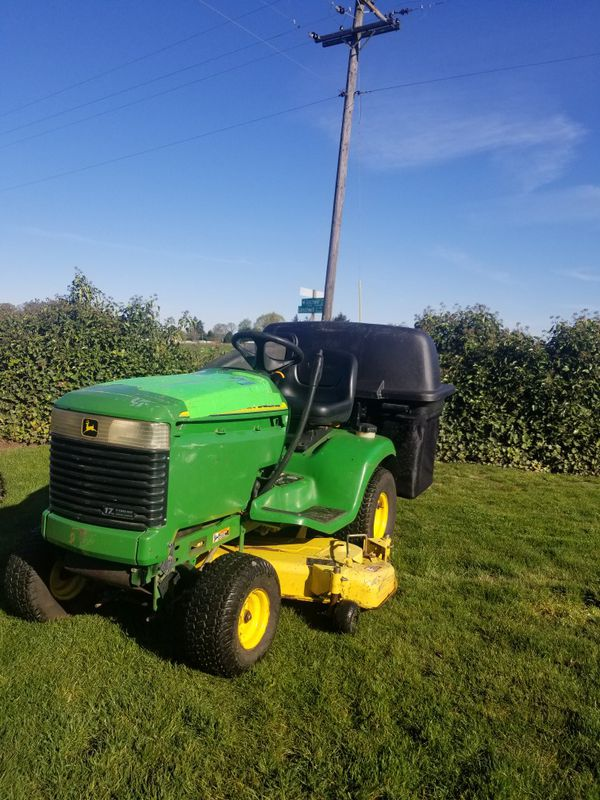 John Deere Lx279 Commercial Riding Lawn Mower For Sale In