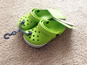 Brand new Crocs toddler shoes size 8 for Sale in Alexandria, VA