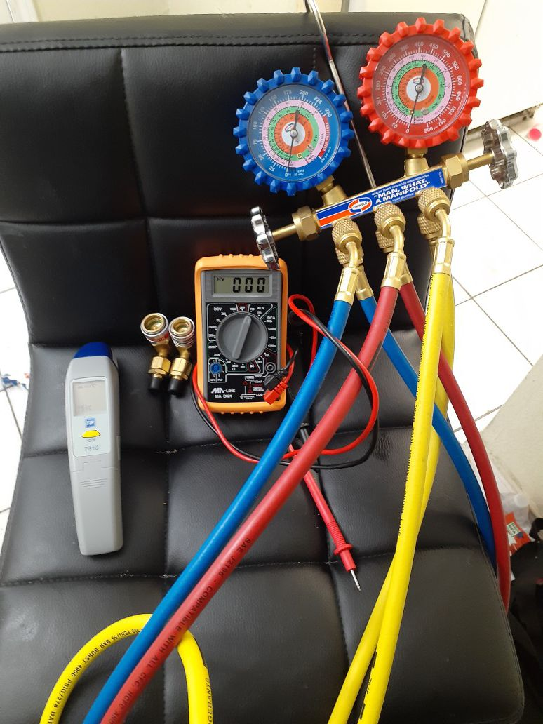 H.v.a.c equipment for technician