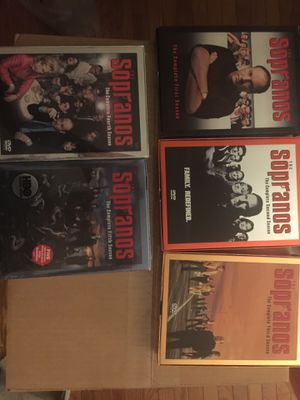 DVD series - The Sappranos 1 - 5 for Sale in Germantown, MD