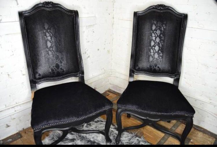 Deluxe Victorian style chairs