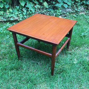 Mid century nights stand table end Sofa corner wood wooden teak mcm vintage antique for Sale in Cleveland, OH