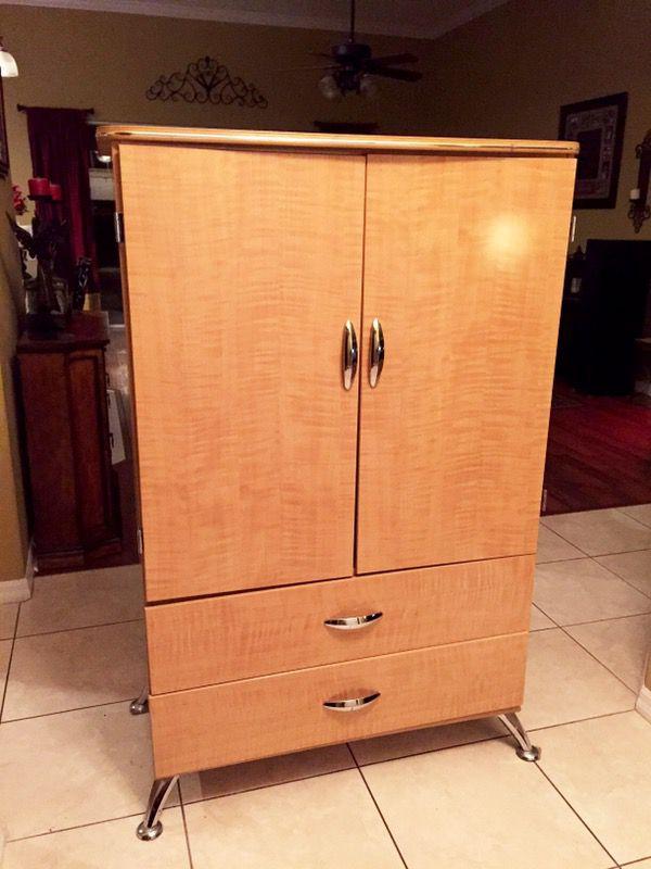 Spectra Armoire Replicated Maple Grain, Ashley Furniture Wardrobe Closet