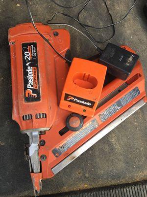 Heavy duty nail gun gas/electric for Sale in Fort Belvoir, VA