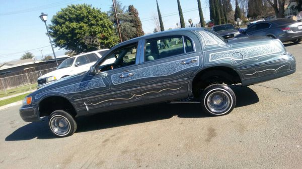 Lowrider Lincoln Town Car For Sale In Riverside Ca Offerup