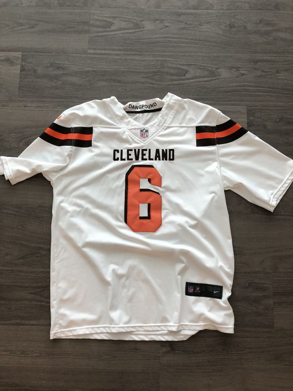 info for 6741e 1373d Baker Mayfield Browns Jersey for Sale in Columbus, OH - OfferUp