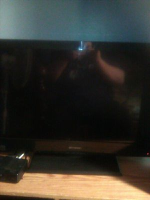 32 inch flat screen TV by Emerson no remote to it has all connections on the side for Sale in Waldorf, MD