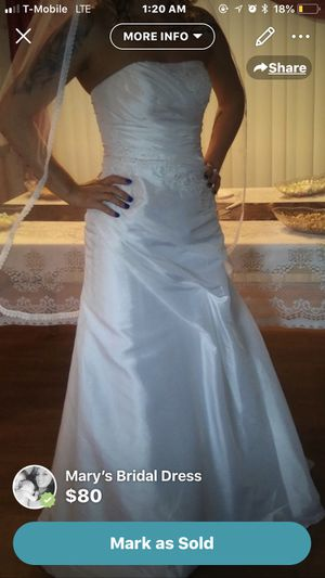 New And Used Wedding Dresses For Sale In Tuscaloosa Al Offerup