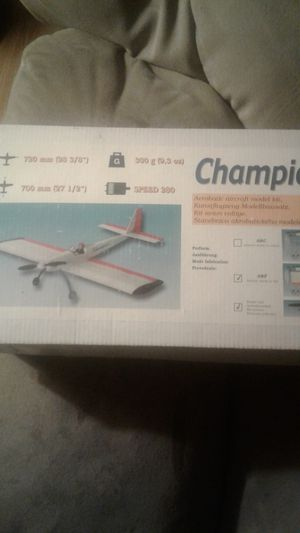 Rc Airplane champion electric for Sale in Benton, AR