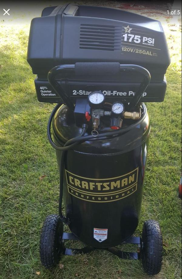 Craftsman Professional Gold 175 Psi 25 Gallons Air Compressor For Sale In Vineland Nj Offerup