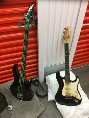 Electric Bass and Electric Guitar for Sale in Winter Park, FL