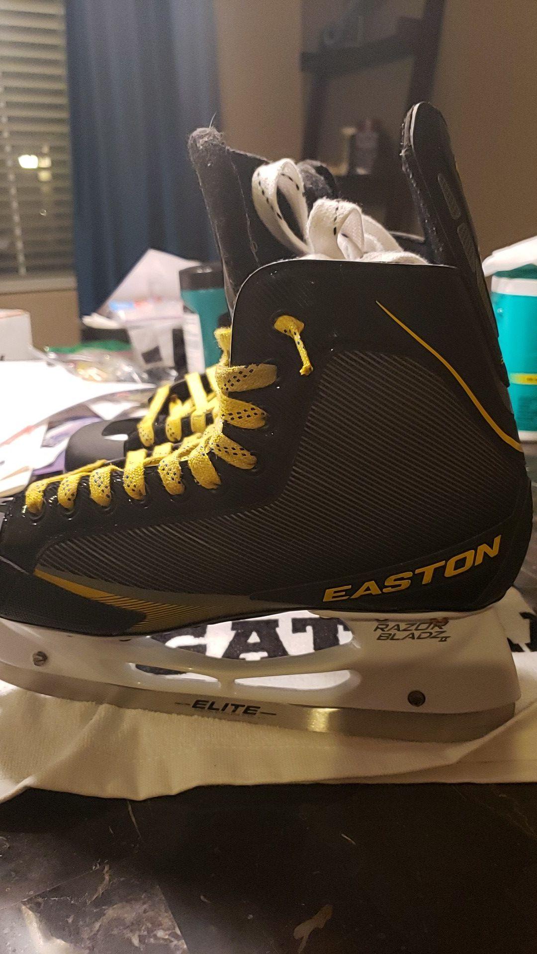 EASTON STEALTH 65S HOCKEY SKATES, NEW, SZ 10.5D