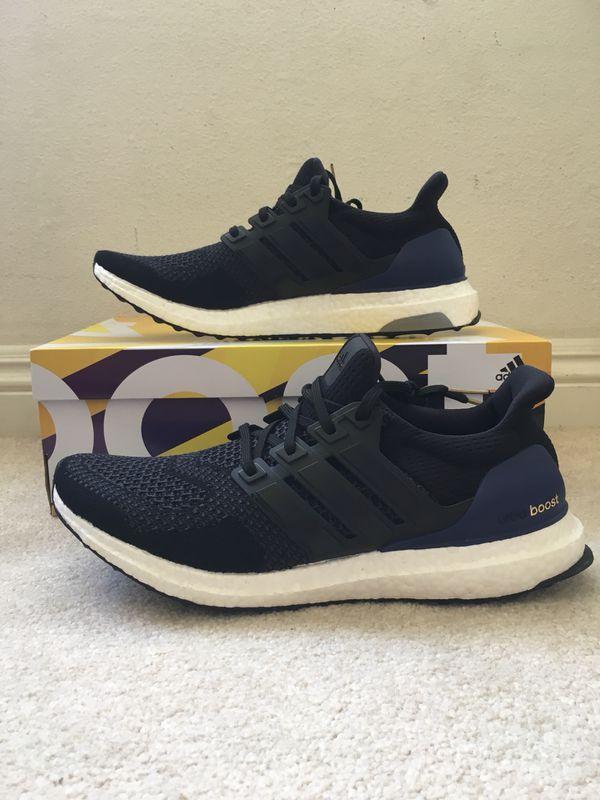 760b514b4 Adidas Ultra Boost 1.0 OG Size 10.5 Black Gold Purple  Money Size   ultraboost nmd yeezy air jordan Nike