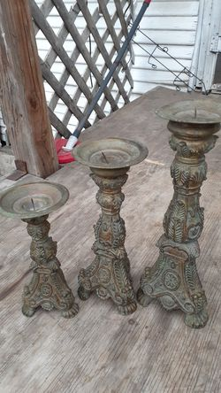 Heavy Candle holders Thumbnail