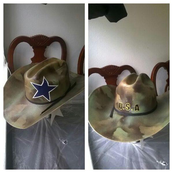 3a14f3df8 Camo Dallas cowboys cowboy hat for Sale in Dallas