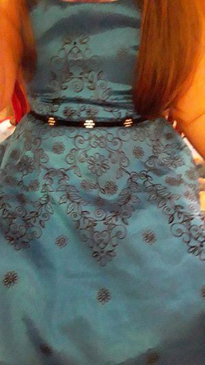 Photo Beautiful Blue Dress 4T
