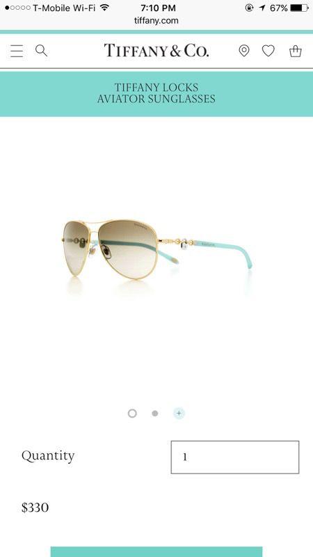 82c0e7c9f8c9 Tiffany Aviator Sunglasses for Sale in Fremont