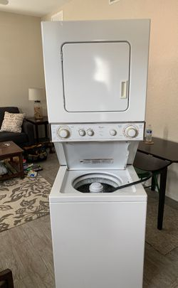 Whirlpool Thin Twin Stackable Washer Dryer Thumbnail