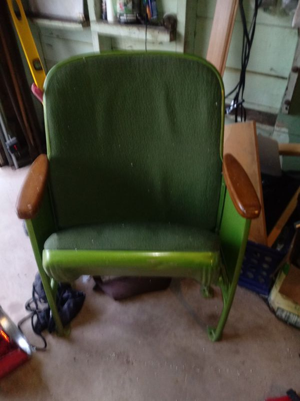 - Antique Theater Chairs 3 For Sale In San Antonio, TX - OfferUp