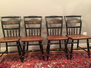 Vintage Hitchcock chairs for Sale in Silver Spring, MD