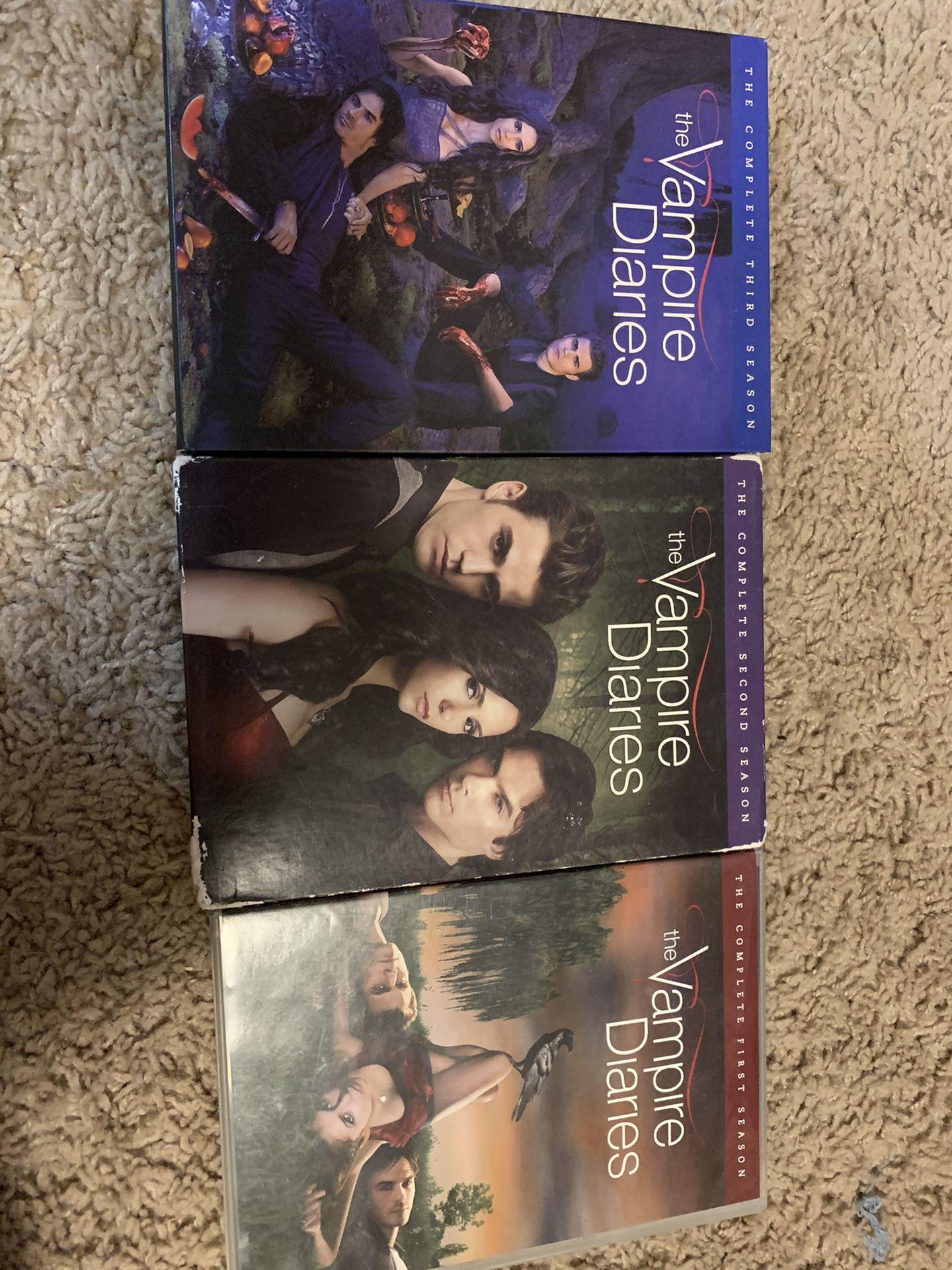 Vampire Diaries 3 Seasons
