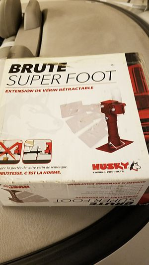 Brute super foot for travel trailer tongue for Sale in Auburndale, FL
