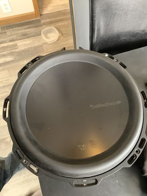 Photo Rockford fosgate T1Ds 12 inch