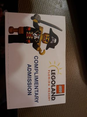 6 Legoland Florida tickets for Sale in Rolla, MO