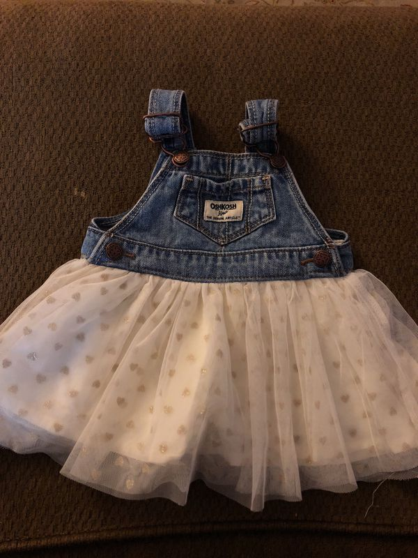 e3a8265e12 Overall dress OshKosh 6 months for Sale in Rancho Cucamonga
