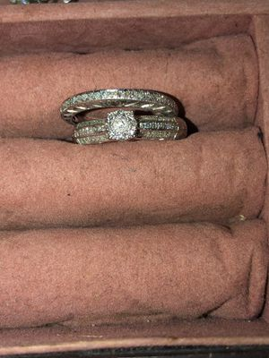 14k White Gold Wedding Ring And Band For In El Paso Tx