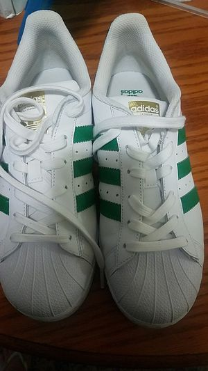 Tennis shoes adidas superstar size 7 for Sale in Silver Spring, MD