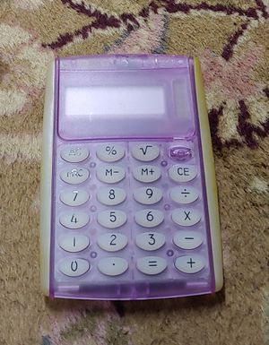 Purple Calculator for Sale in Graham, NC