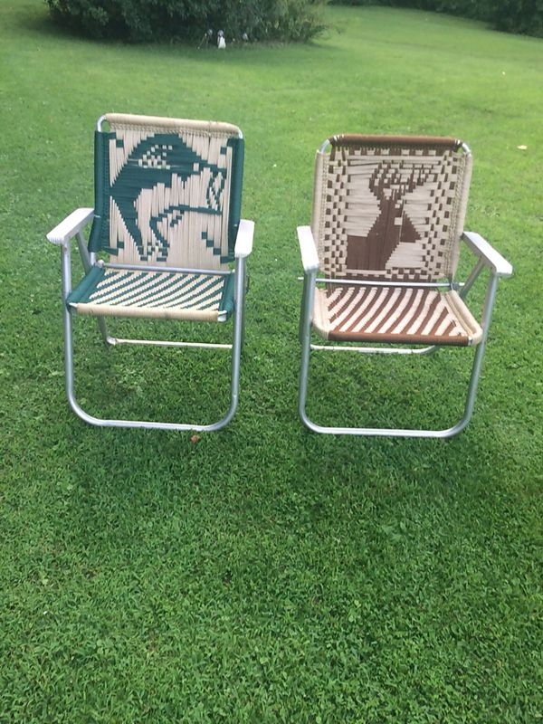 Hand Woven Lawn Chairs 1 Mouth B Buck