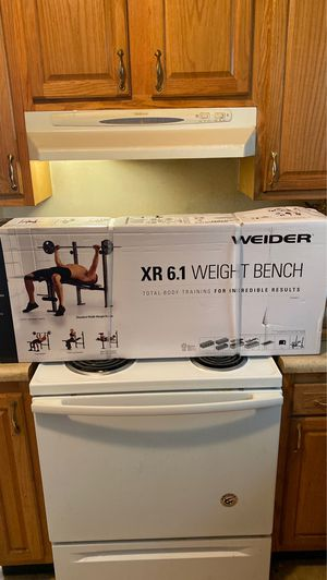 Photo Weider Weight bench