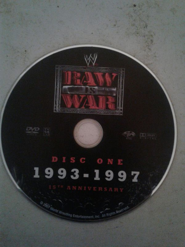 Wwe raw 15th anniversary 93-97 dvd for Sale in South Houston, TX - OfferUp