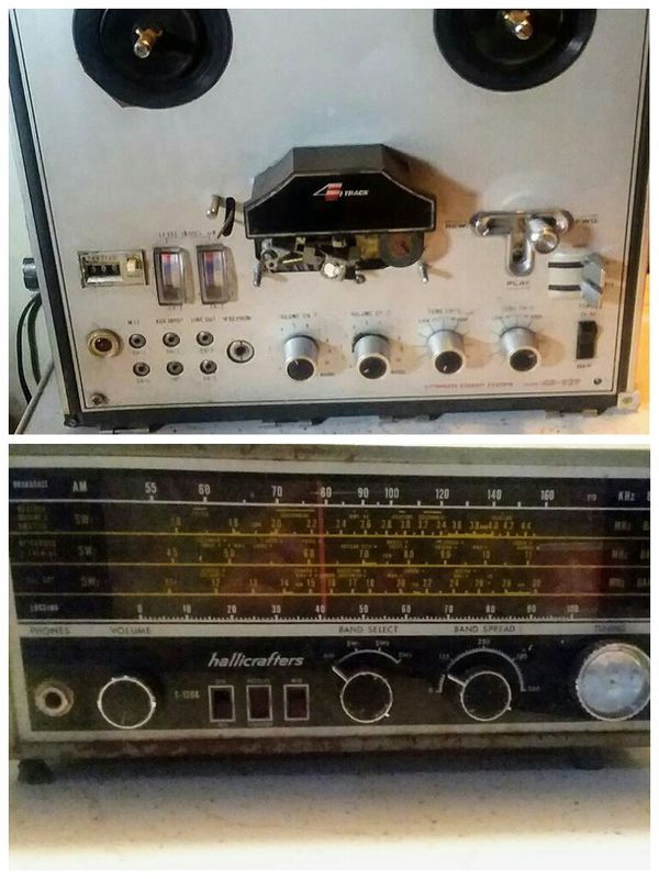 Vintage Sanyo 4 track and Hallicrafters S-120A Multiband Radio for Sale in  Port Orchard, WA - OfferUp
