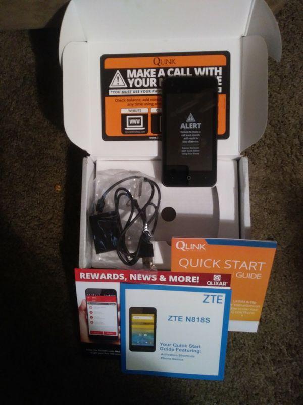 QLink Wireless Cellular ZTE Phone for Sale in Wichita, KS - OfferUp