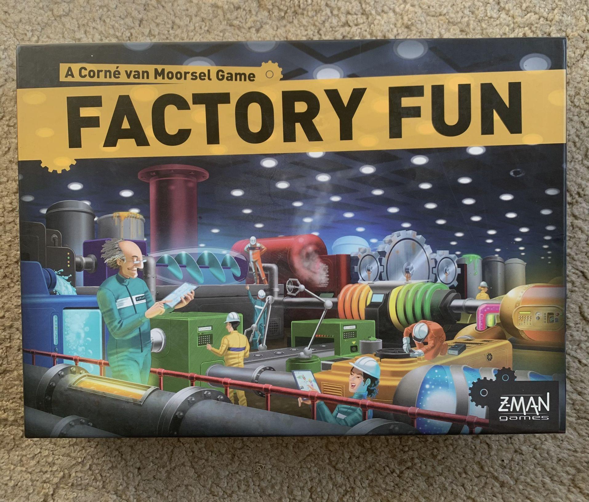 Factory Fun Board Game (Z-Man Games)