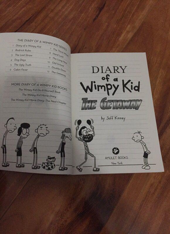 Diary of a wimpy kid book 12 books magazines in miami fl offerup solutioingenieria Gallery