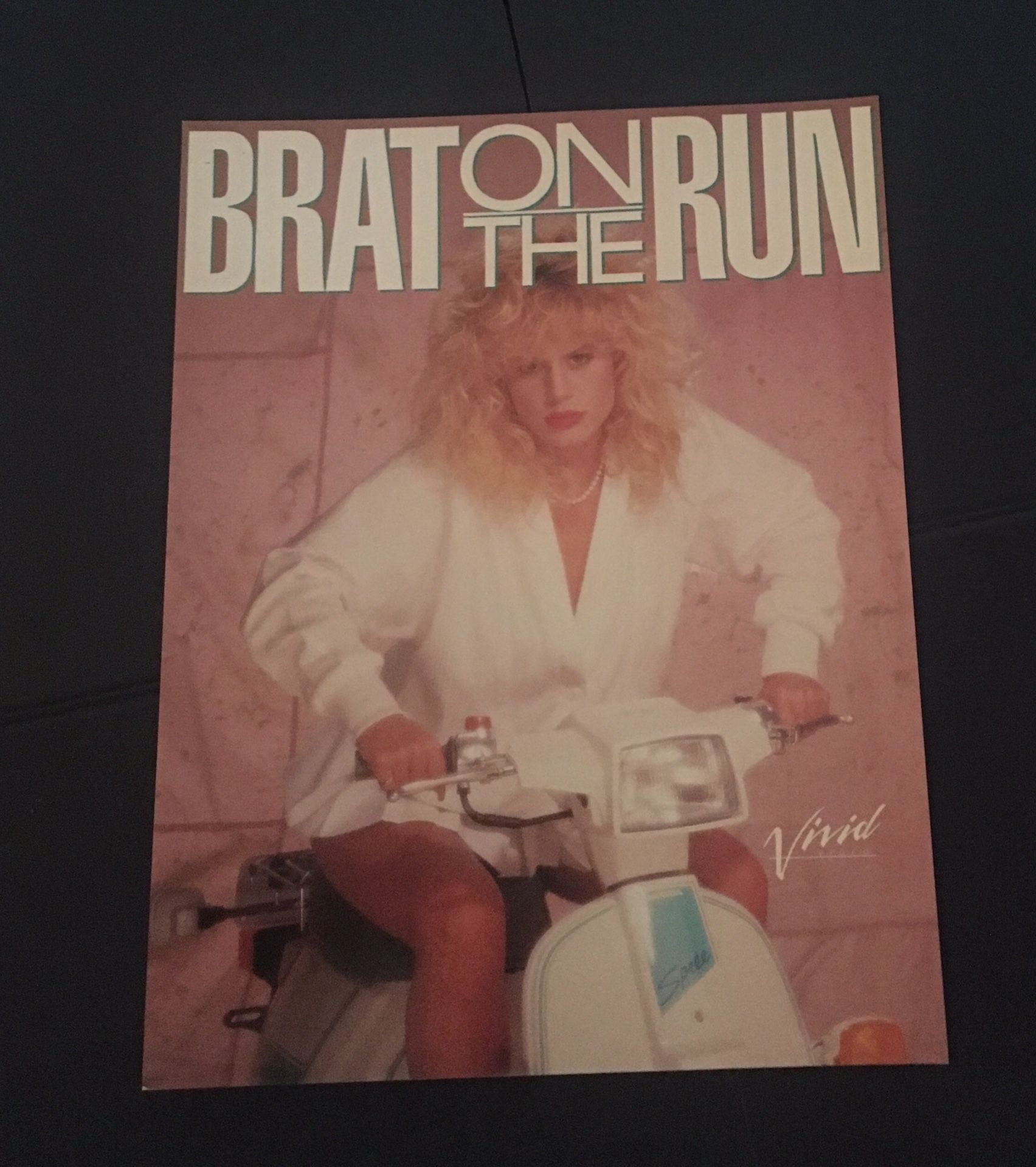 "Brat on the Run Ad Slick 8.5"" x 11"""