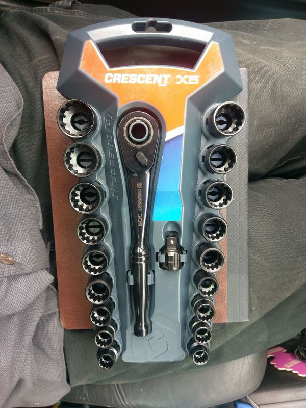 Crescent X6 20pc socket set for Sale in Bothell, WA - OfferUp