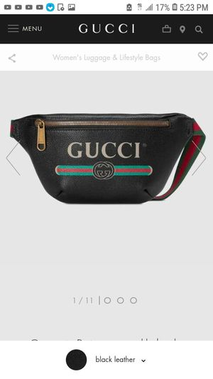 996a04551bf4 The Fashionable Gucci Belt Waist Pouch for Sale in San Francisco, CA