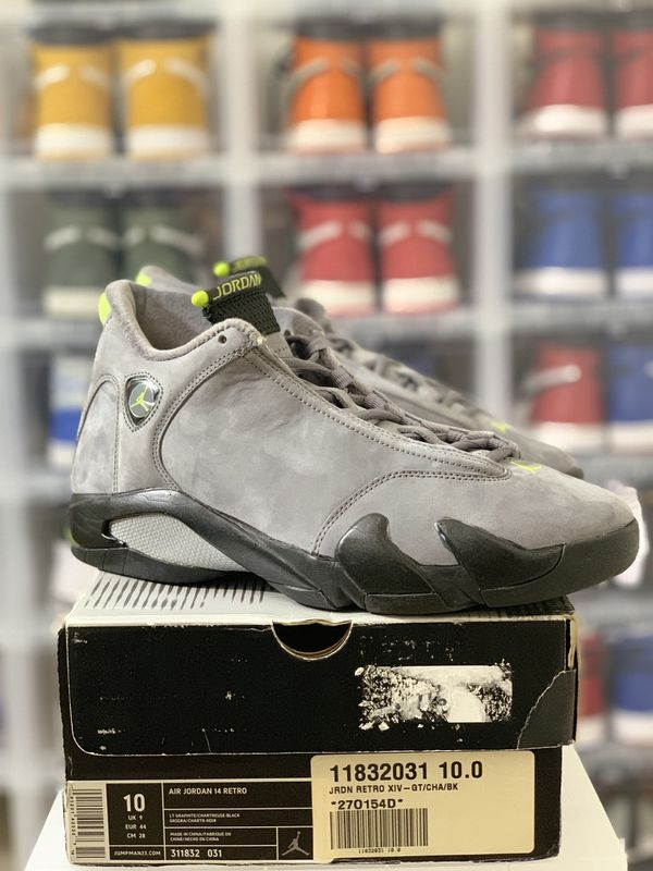 best website 0c45a 6075f DS Nike Air Jordan 14 XIV Retro Chartreuse (2005) — Size 10 for Sale in  Philadelphia, PA - OfferUp