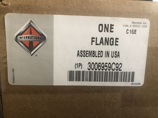 International flange  Item#3006959C92 OEM brand new for Sale in Davie, FL -  OfferUp