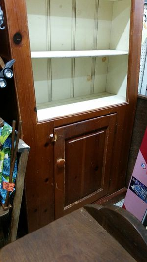 """Amish Pine Hutch approx 34"""" x 13.5"""" footprint for Sale in Montgomery Village, MD"""